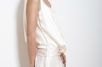 Robes de mariée sur mesure Odile Léonard : la garantie de l'élégance et de la sobriété