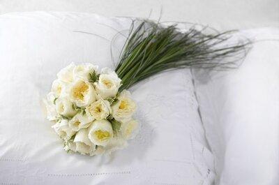 Au nom de la rose : bouquet de mariée joli, raffiné et poétique assuré