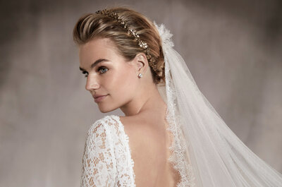 Vestidos de noiva Pronovias antecipam as 5 tendências mais lindas 2017!