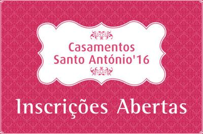 Casamentos de Santo António: abertas as inscrições até 5 de Março