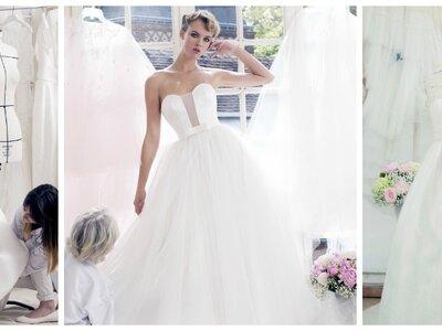 Collection Atelier Emelia 2017 : des robes de mariées simples et intemporelles