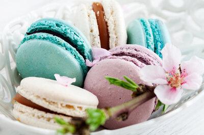 Alternativas para la mesa de dulces que acompañan la torta de boda