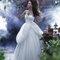Vestido de novia 2014 con doble falda y escote corazón inspirado en Bella - Foto Alfred Angelo