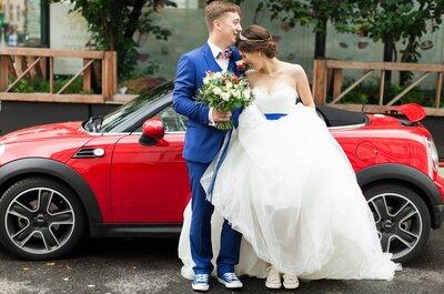 Смесь чопорной Англии и дерзкого рок-н-ролла: свадьба Антона и Марины