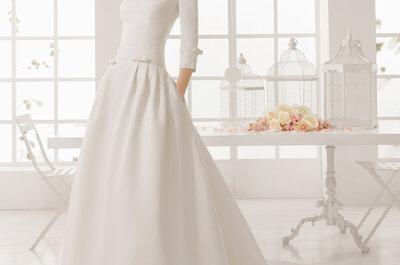 Simpele trouwjurken 2016: Mooi en envoudig