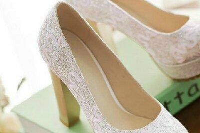Calçado super feminino para noivas de todos os gostos!