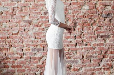 Свадебные платья российского бренда White Chicks: 6 моделей свадебных платьев весенней коллекции 2015