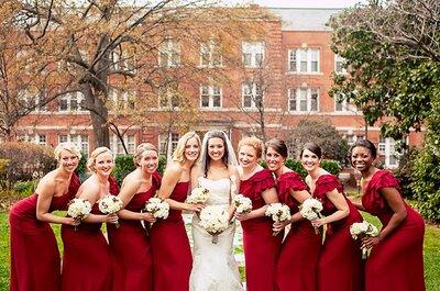 Trends für Brautjungfern