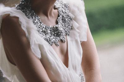 Maxi colares para noivas: tendência absoluta em 2016!