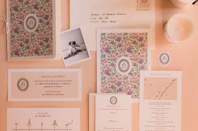 Le bel univers d'Anne-Lise Pucci, créatrice de faire-part