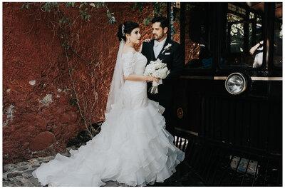 Y de pronto... El mundo se transformó: La boda de Brenda y José Luis