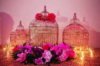 Tips para decorar con jaulitas en tu boda