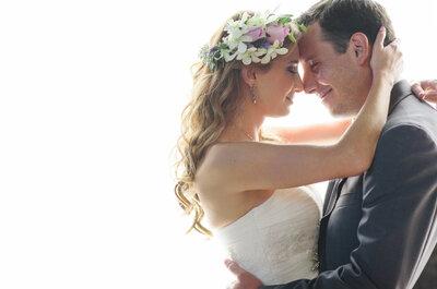 Un amor que florece todos los días: La boda de Luisa y Bernardo... ¡Un sueño al natural!