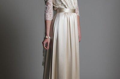 Suknie ślubne 2014: kolekcja vintage Halfpenny London