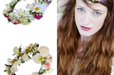 Una de flores para tu boda… diferentes