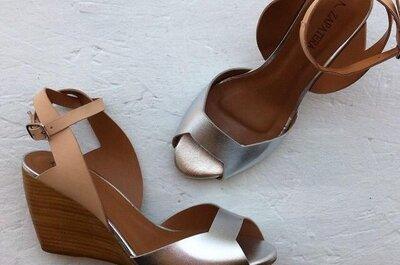 Zapatillas y zapatos con plataforma para novias que aman la comodidad