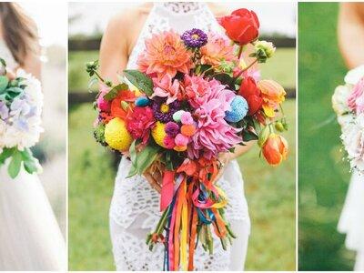 Las 5 mejores tendencias en ramos para novia 2016: Diseños únicos para ti