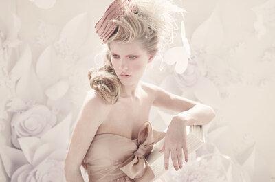 Vestido de Noiva Nude - seleção Zankyou