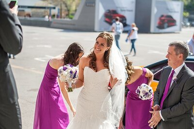 Real Wedding: Steph & Gary's Champion Wedding at The Nou Camp in Barcelona