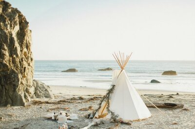 ¿Cómo decorar una boda en la playa?