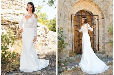Focus sur les créations d'Au coeur d'Un Rêve : des robes de mariée sur mesure à petits prix!