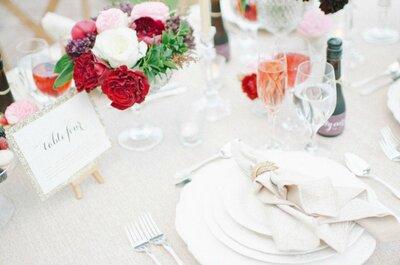 Montajes de boda 2015: Las mejores tendencias para decorar tu gran día con mucho estilo