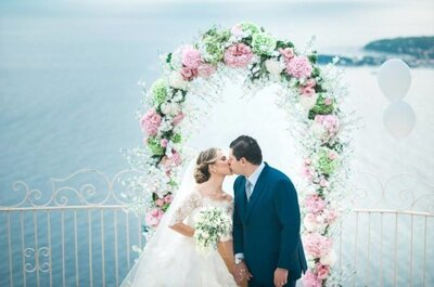 Roberta et Luiz : Le somptueux mariage de deux amoureux brésiliens sur la Côte d'Azur