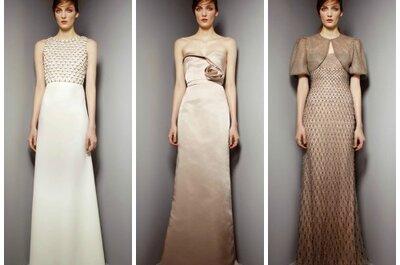 Trendy ślubne dla gości weselnych - suknie i sukienki 2013