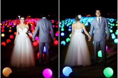 Amor estampado nos olhos: o casamento de Mari e Dudu