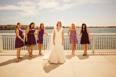 Meerjungfrauen-Brautkleider von echten Bräuten