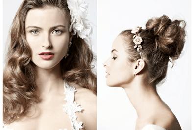 Reviste de glamour tu peinado de novia: Tips para lograr el look perfecto