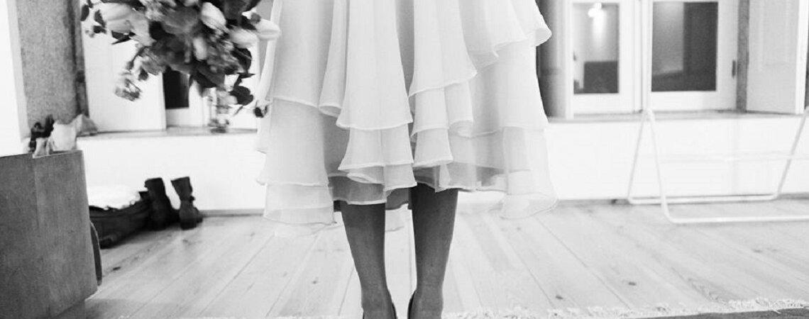 Vestidos de casamentos curtos 2016: uma tendência que vai adorar!