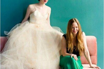 Vestidos de noiva 'girls and champagne': colecção Carol Hannah 2013