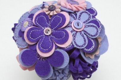 Sélection de bouquets de fleurs artificielles