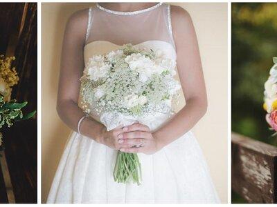 Ontdek de allermooiste trends in bruidsboeketten van 2016!