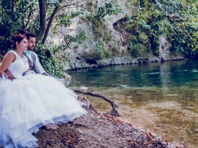 Adeline + Jérémy : Mariage vintage et coloré de tons pastels dans le Vaucluse