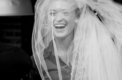 Kies een sluier voor de romantische bruid
