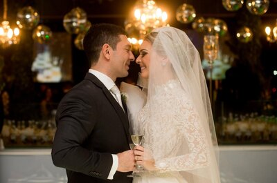 Casamento clássico de Laís e Joelson: cerimônia religiosa e festa de arrasar em Belém!