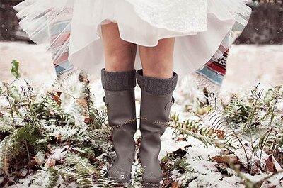 La foto de la semana: Novia con botas