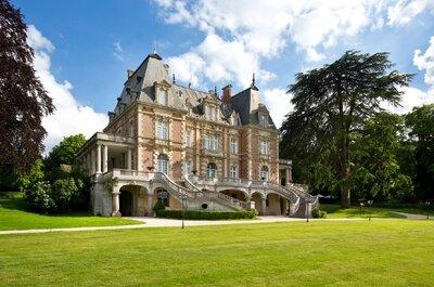 Se marier dans un château : les lieux féeriques en Île-de-France