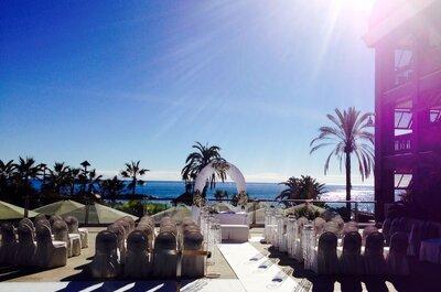 Gran Hotel Guadalpin Banus: un hotel de cinco estrellas para tu boda frente al mar