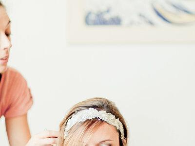 Laurianne et Sébastien ont misé sur un mariage champêtre chic dans un lieu de réception renversant!