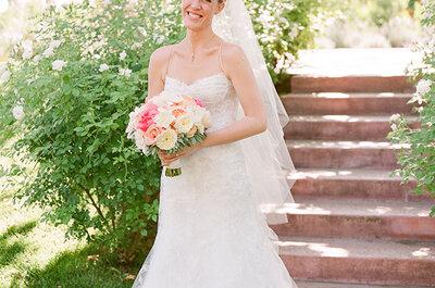 Real Wedding: Una historia de amor, una granja, la rueda de la fortuna, ¡y más!