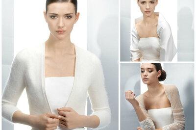 Zakrywamy ramiona, czyli przegląd bolerek ślubnych na 2013 rok