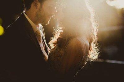 Sofisticação e romantismo: casamento ao ar livre de Carol e André