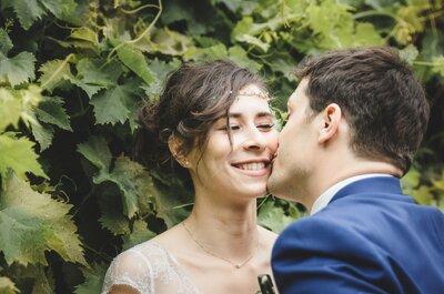 Un lieu de réception et une décoration à couper le souffle, laissez vous envouter par le mariage d'Angélique et Thomas !