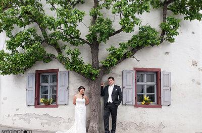 Deutsch-italienische Hochzeit im Frankenwald