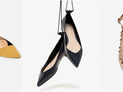 Zapatos sin tacón para invitadas de boda: 50 pares excepcionales
