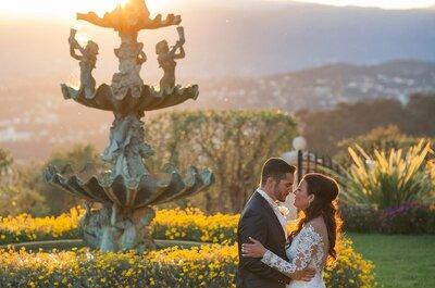 Emmanuelle + Max : Un mariage en Harley Davidson dans une villa de la Côte d'Azur