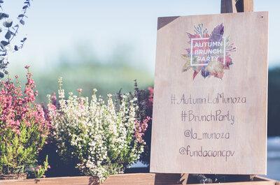 Autumn Brunch Party: expertos y profesionales de las bodas se reúnen en un especial evento